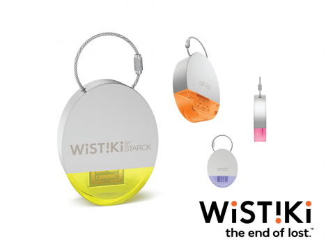Wistiki By Starck:Ne perdez plus vos affaires