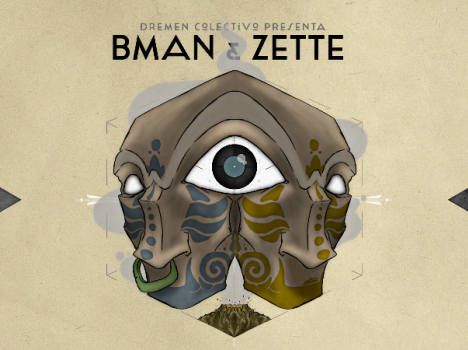 Bman & Zette - THE DANCING MAN ON THE VOLCANO