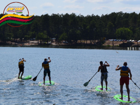 Stand up paddle en Val de Garonne